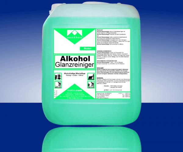 ALKOHOL – GLANZREINIGER – На Алкохолна Основа – Зелен Цвят