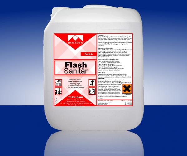 FLASH – За Миене В Санитарни Помещения – Безцветен
