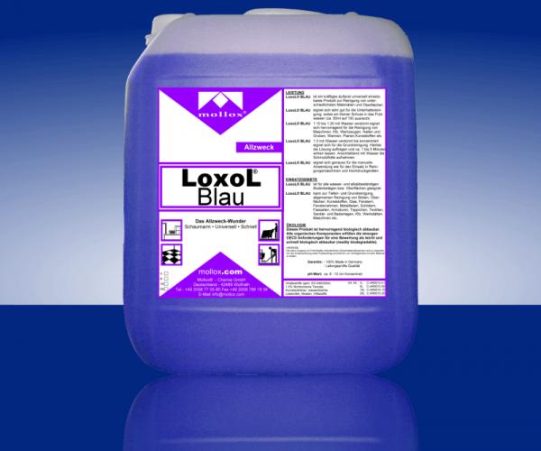 LOXOL BLAU – Универсален, Слабо Пенлив За Подове И Повърхности