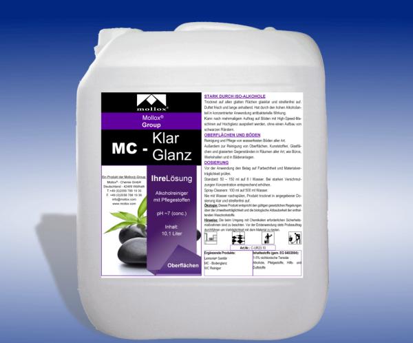 MC – KLARGLANZ – С Концентрация На Алкохол – За Подове