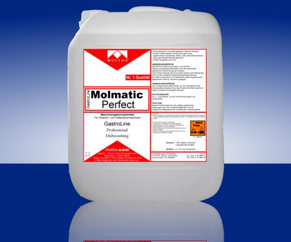 MOLMATIC PERFECT – Измиващ Препарат За Проф. Съдомиялни