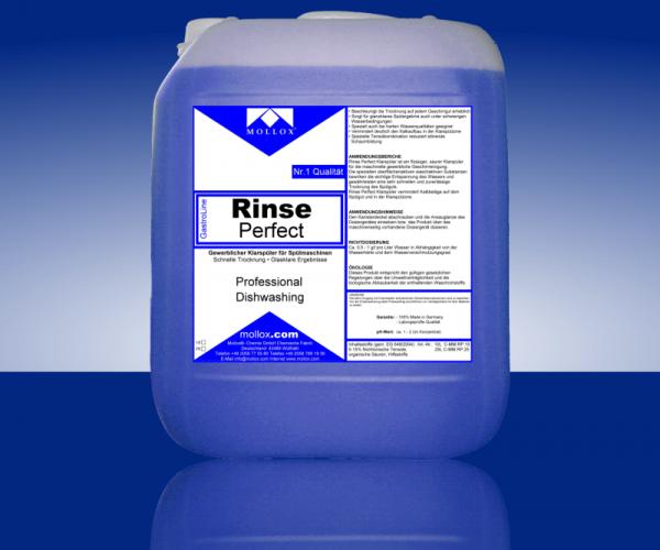 RINSE PERFECT – Изплакващ Препарат За Професионални Съдомиялни