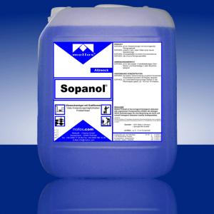 SOPANOL – Универсален Пенещ Се Препарат За Подове, Повърхности